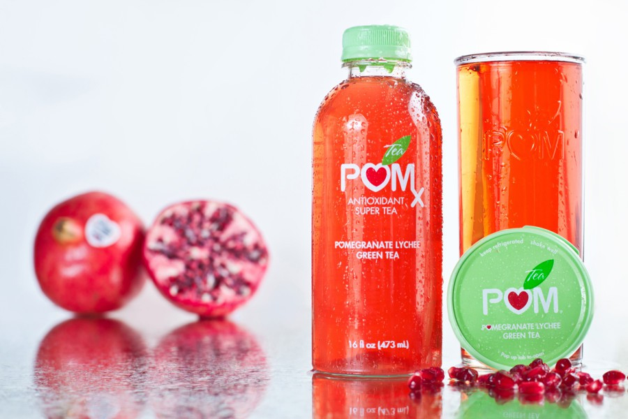 POM Antioxidant Super Tea Advertisement