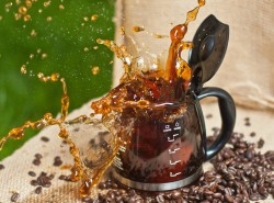 Coffee Pot Splash