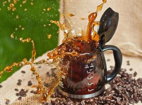 Coffee Pot Splash