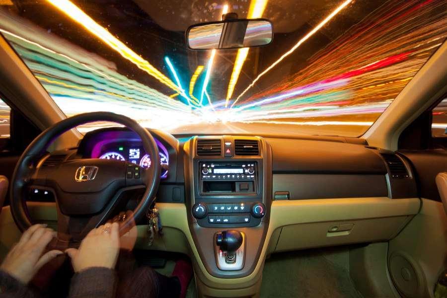 Honda CRV Nighttime