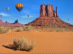 Arizona's Monument Valley Balloon Festival