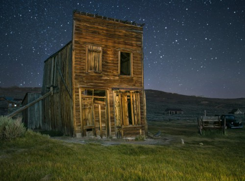 A Starry Night in Bodie