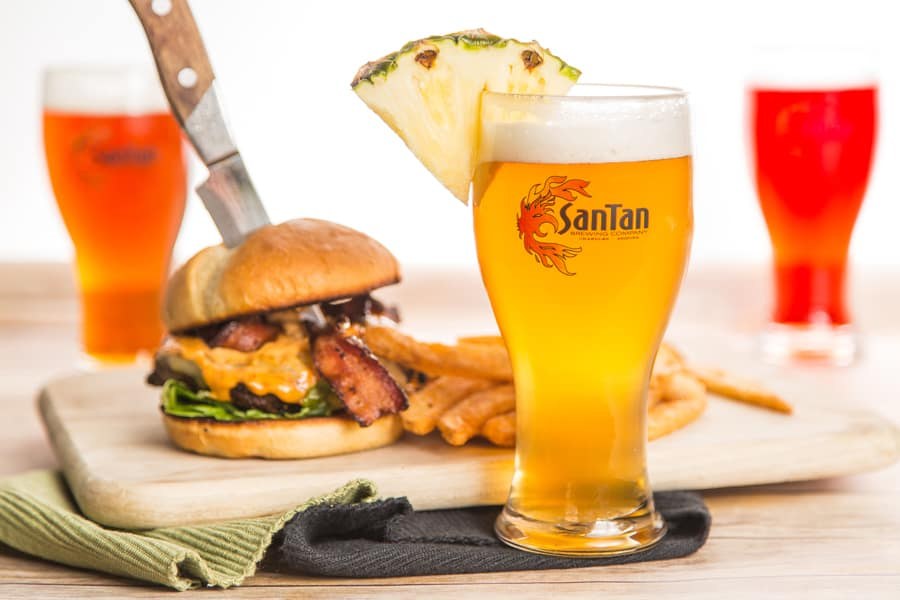SanTan Brewing Company: Phoenix Food Photographer.