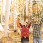 Jane and Joe's Autumn Session: Engagement Photographer Flagstaff