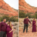 Maternity Photography Sedona: Elena's Morning Session