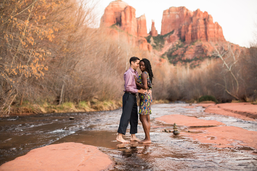 Angie and Jake: Engagement Photographer Sedona Arizona