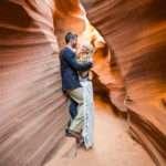 Antelope Canyon Engagement Photography: Kayla and Tyler