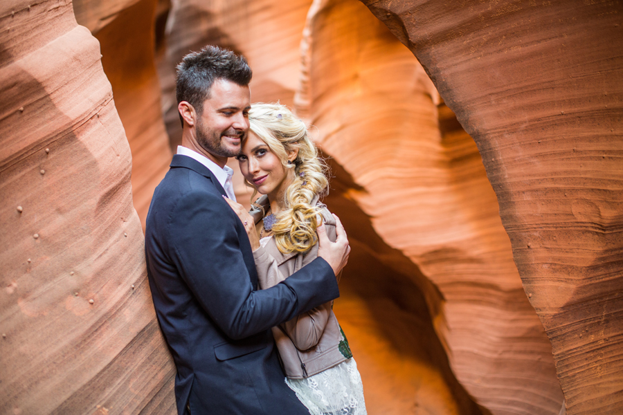 Kayla and Tyler: Antelope Canyon Engagement Photography