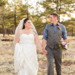 Flagstaff Intimate Backyard Wedding: Ashley and Tyler