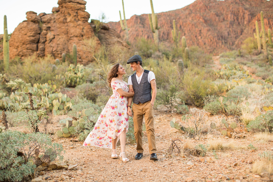 Desiree and Stephen: Best Tucson Arizona Engagement Photography