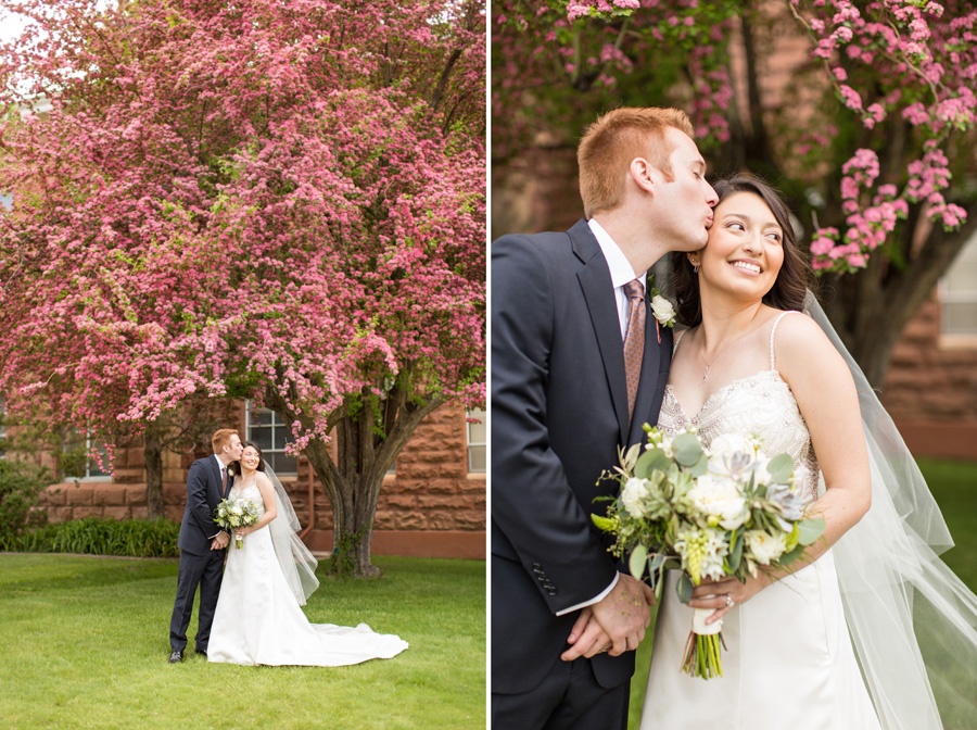 Saaty Photography - Desiree and Alex - Northern Arizona University Old Main Wedding -271
