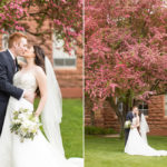 Desiree and Alex: NAU (Northern Arizona University) Old Main Wedding