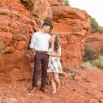 Sedona Engagement and Proposal Photography: Kelsea and Mike