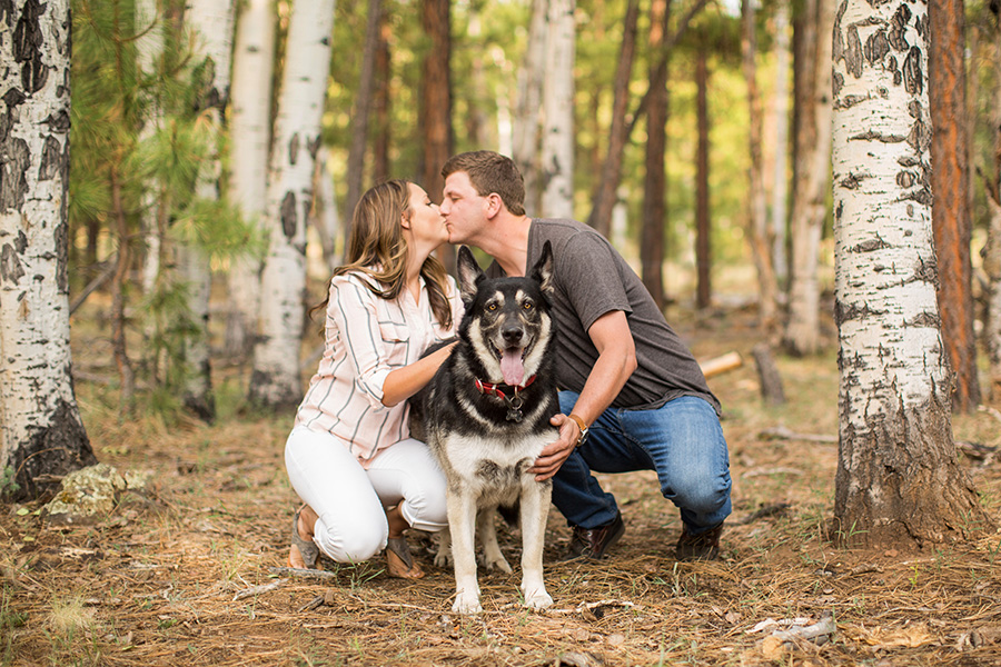 Casey and CJ - Flagstaff and Sedona Engagement Photographer -42