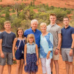 Sedona and Verde Valley Family Portrait Photographer: Allen Family