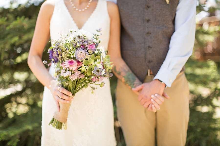Sarah and John - Abineau Lodge Flagstaff Wedding Photography -299