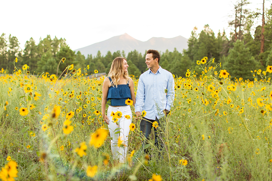 AJ and Nick: Flagstaff Arizona Engagement and Elopement Photographer