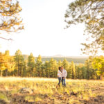 Sarah and Matt: Flagstaff Ranch Engagement and Portrait Photography