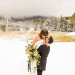 Saaty Photographer: Arizona Snowbowl Wedding Photography