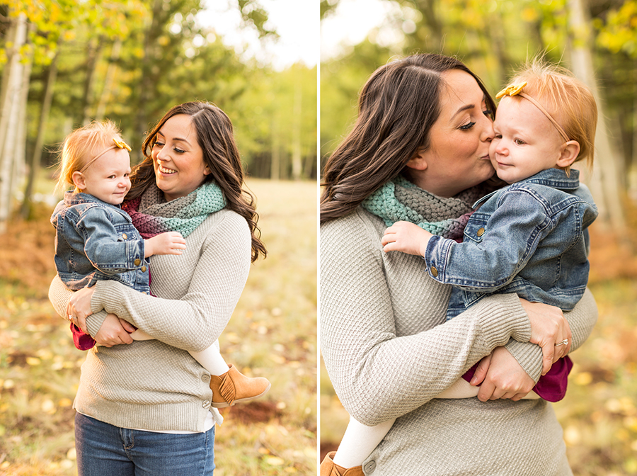 Saaty Photography - Hauser Family - Snowy Family and Portrait Photographer Flagstaff -16
