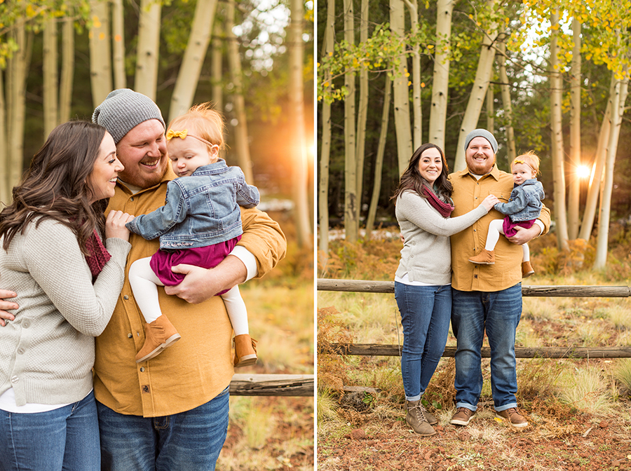 Saaty Photography - Hauser Family - Snowy Family and Portrait Photographer Flagstaff -2