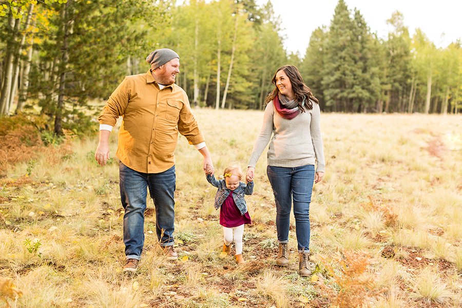 Saaty Photography - Hauser Family - Snowy Family and Portrait Photographer Flagstaff -20