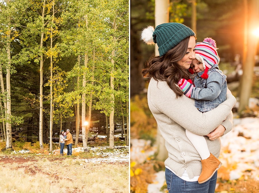 Saaty Photography - Hauser Family - Snowy Family and Portrait Photographer Flagstaff -25