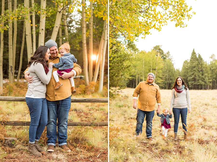 Saaty Photography - Hauser Family - Snowy Family and Portrait Photographer Flagstaff -3