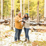 Snowy Family and Portrait Photography Flagstaff: Hauser Family
