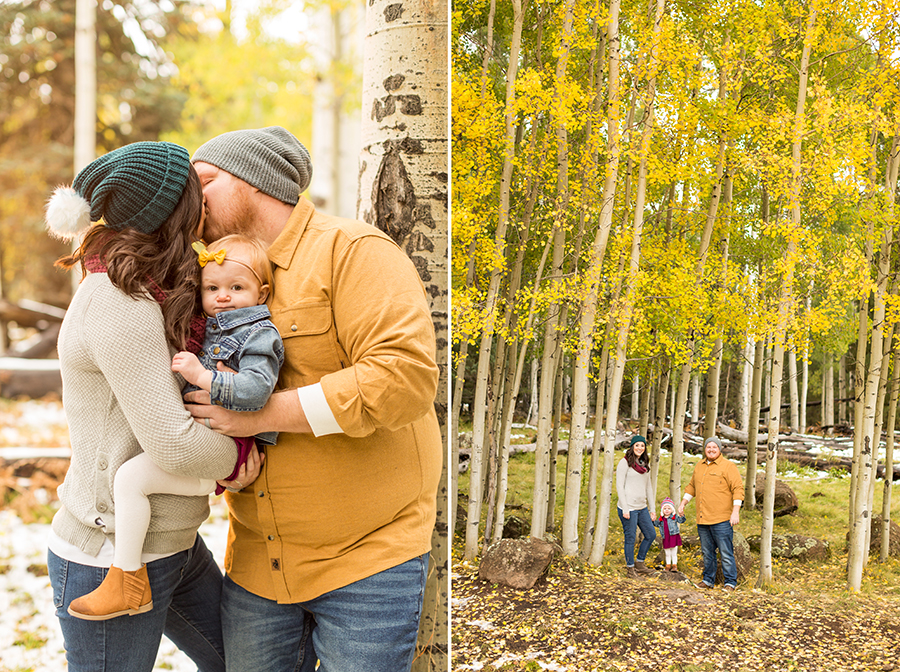 Saaty Photography - Hauser Family - Snowy Family and Portrait Photographer Flagstaff -42