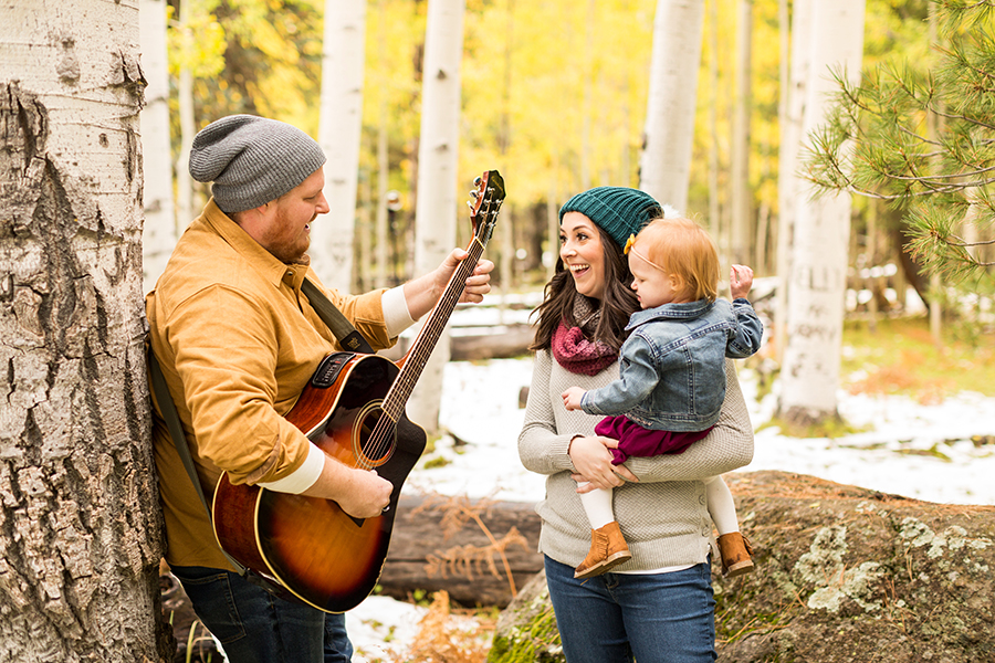 Saaty Photography - Hauser Family - Snowy Family and Portrait Photographer Flagstaff -53