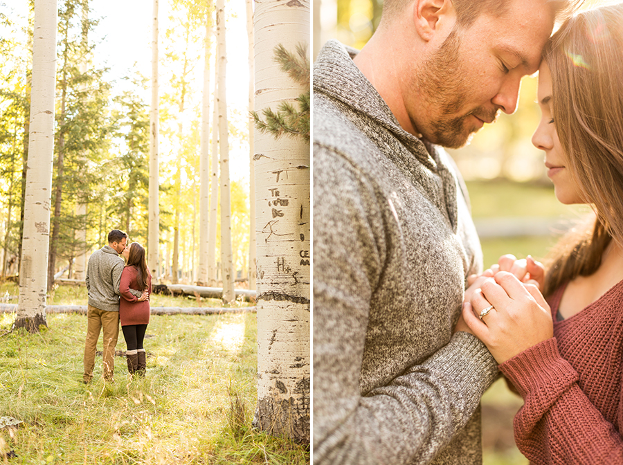 Engagement Photography Flagstaff and Sedona Arizona: Jessie and Aaron