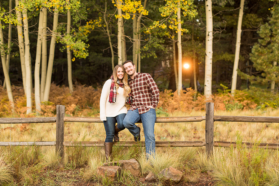 Melissa and Craig: Engagement and Wedding Photography Flagstaff AZ