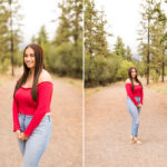 Senior Portrait Photography Flagstaff Arizona: Mia Garcia