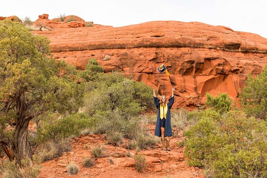 Senior Portrait Photography Sedona and Flagstaff Arizona: Sara