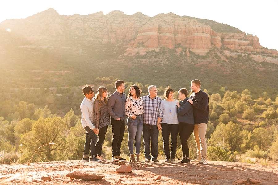 Saaty Photography - Kohout Family - Sedona Arizona Family Portrait Photographers -2