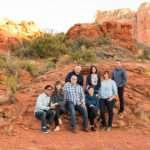Sedona Arizona Family Portrait Photographer: Kohout Family