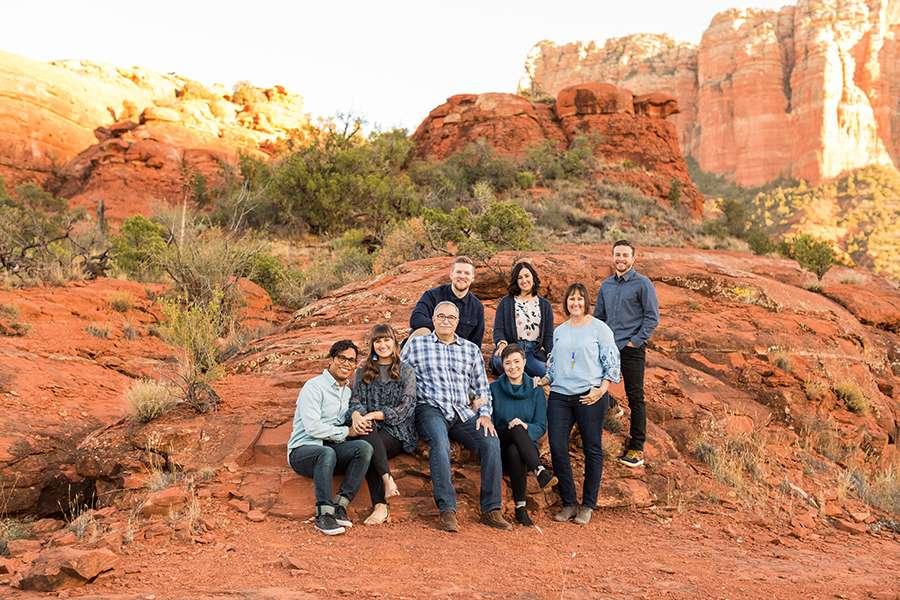 Saaty Photography - Kohout Family - Sedona Arizona Family Portrait Photographers -21