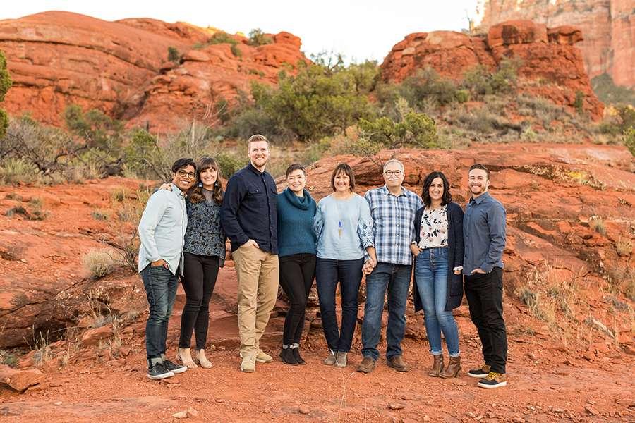 Saaty Photography - Kohout Family - Sedona Arizona Family Portrait Photographers -27
