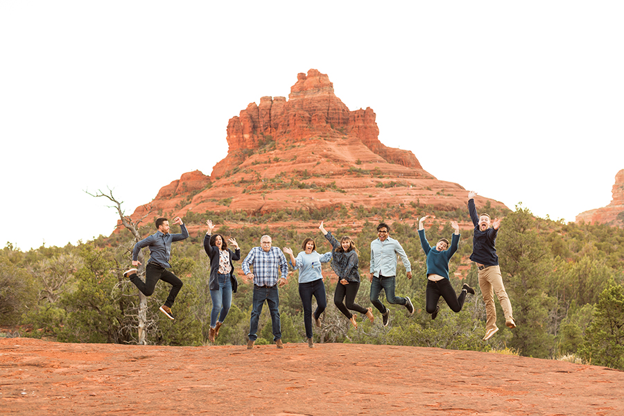 Saaty Photography - Kohout Family - Sedona Arizona Family Portrait Photographers -54
