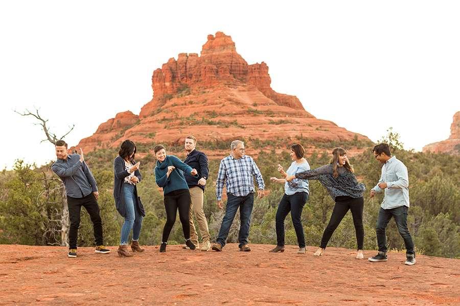 Saaty Photography - Kohout Family - Sedona Arizona Family Portrait Photographers -56