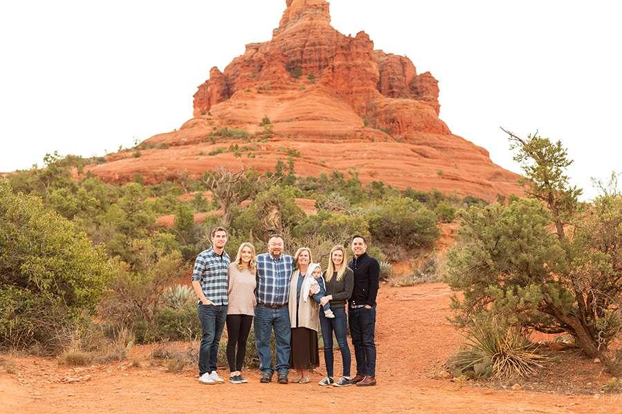 Saaty Photography - Moss Family - Sedona Arizona Family Portrait Photographers -1