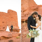 Wupatki National Monument Wedding Photography: Leah and David John
