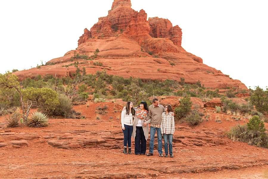 Saaty Photography - Thomas Family - Sedona Arizona Family Portrait Photography -1