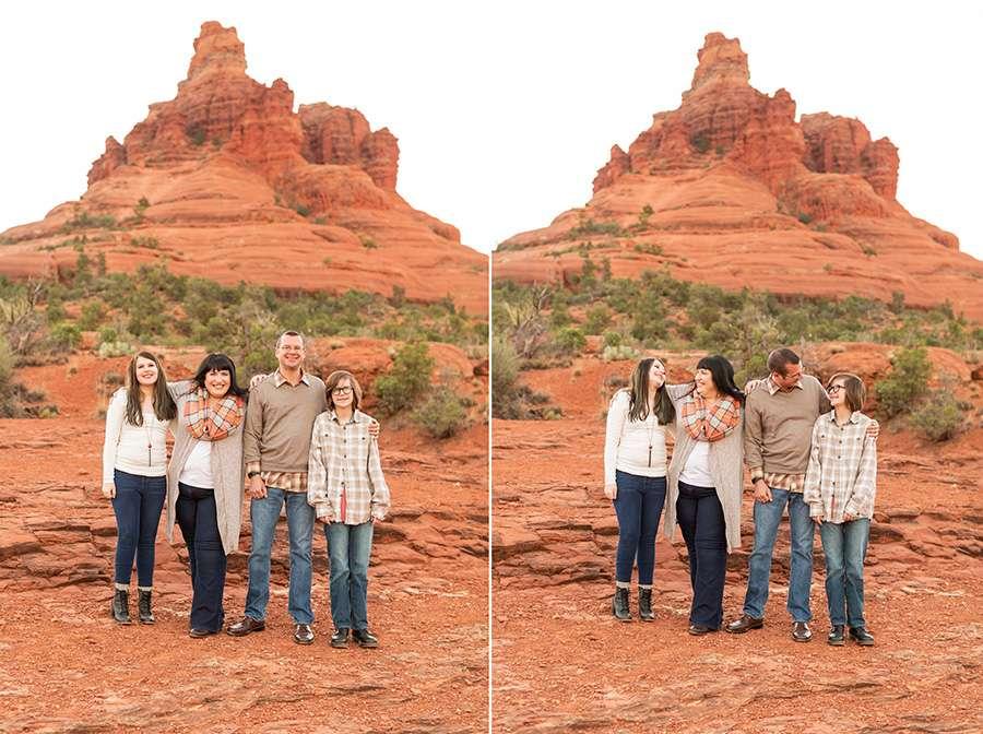 Saaty Photography - Thomas Family - Sedona Arizona Family Portrait Photography -2