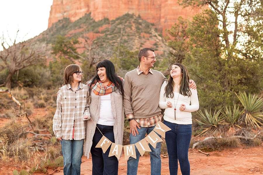 Saaty Photography - Thomas Family - Sedona Arizona Family Portrait Photography -20