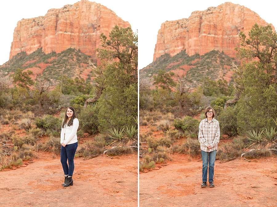 Saaty Photography - Thomas Family - Sedona Arizona Family Portrait Photography -28