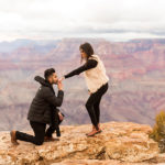 Alim and Nafisha: Grand Canyon Proposal and Portrait Photographer