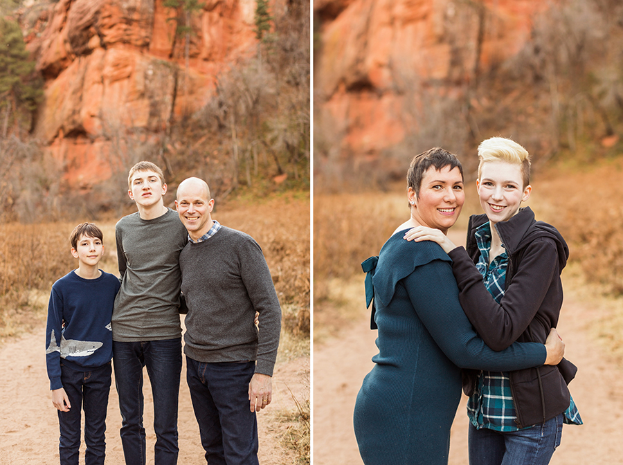 Saaty Photography - Aronow Family - Sedona Arizona Portrait Photographer -18