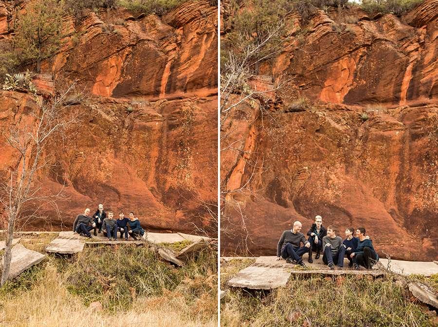 Saaty Photography - Aronow Family - Sedona Arizona Portrait Photographer -27